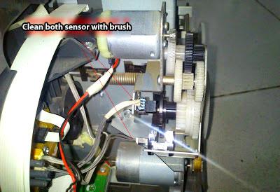 Epson 1390 CR and APG Motor Driver Error